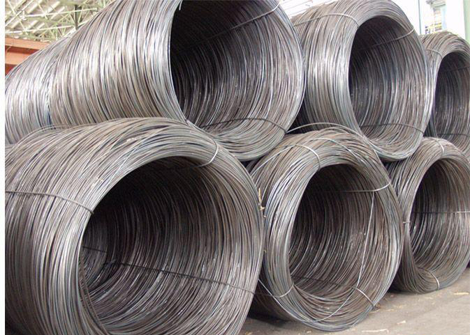 Steel wire, steel rod