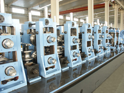 ERW tube making product line